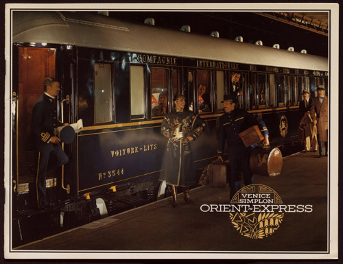 Venice Simplon Orient Express. Copyright of this material is retained by the content creators. John W. Hartman Center, Duke University does not claim to hold any copyrights to these materials