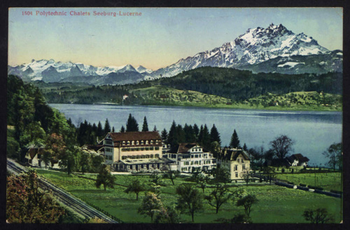 [Switzerland Postcards] © Permission granted by University of Westminster Archive