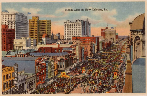 Historic Old New Orleans – America's Most Interesting City, 1938. Copyright of this material is retained by the content creators. Loyola University New Orleans does not claim to hold any copyrights to these materials