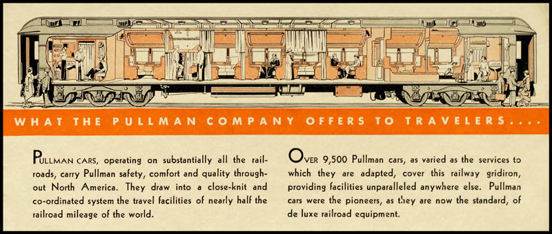 What the Pullman Company Offers to Travelers .... Copyright The Newberry Library