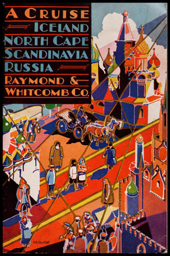 Raymond Whitcomb Co. Travel Brochures, 1930-1933. The Newberry Library