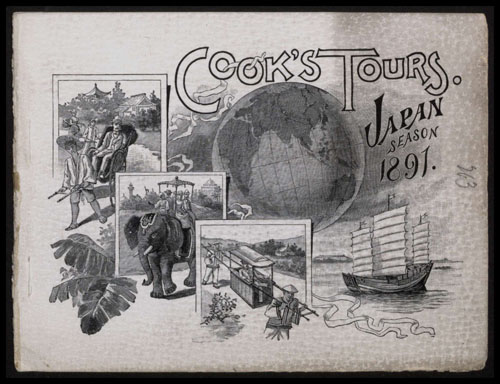 Cook's Tours, Japan Season 1891. © Permission granted by Thomas Cook Archives