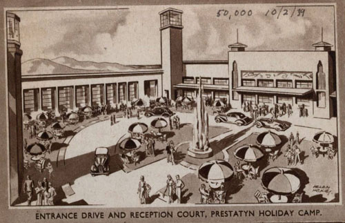 Welcome to Prestatyn Holiday Camp, 1946. © Permission granted by Thomas Cook Archives
