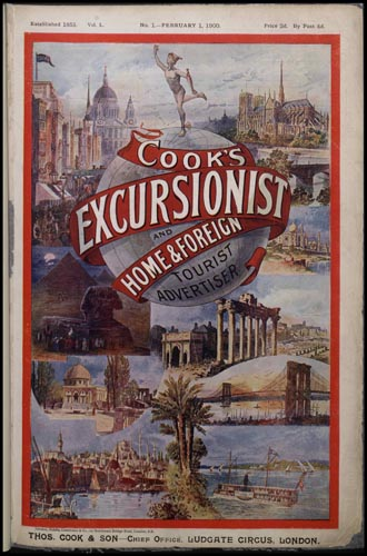 Cook's Excursionist, 1901. Copyright the Thomas Cook Archives