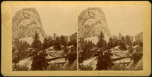 Cap of Liberty, Yosemite. Copyright of this material is retained by the content creators. Michigan State University does not claim to hold any copyrights to these materials