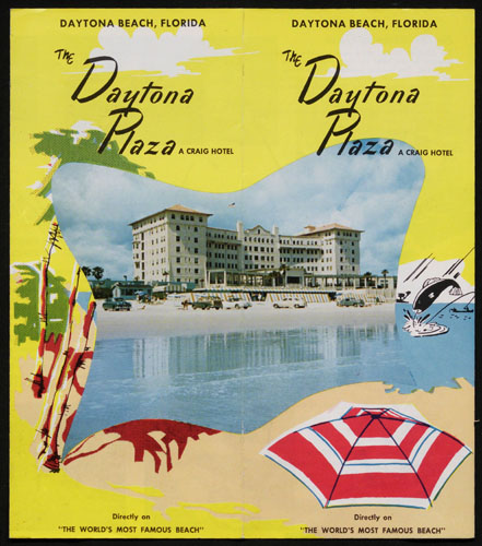 The Daytona Plaza (A Craig Hotel). Copyright University of Florida, George A. Smathers Libraries