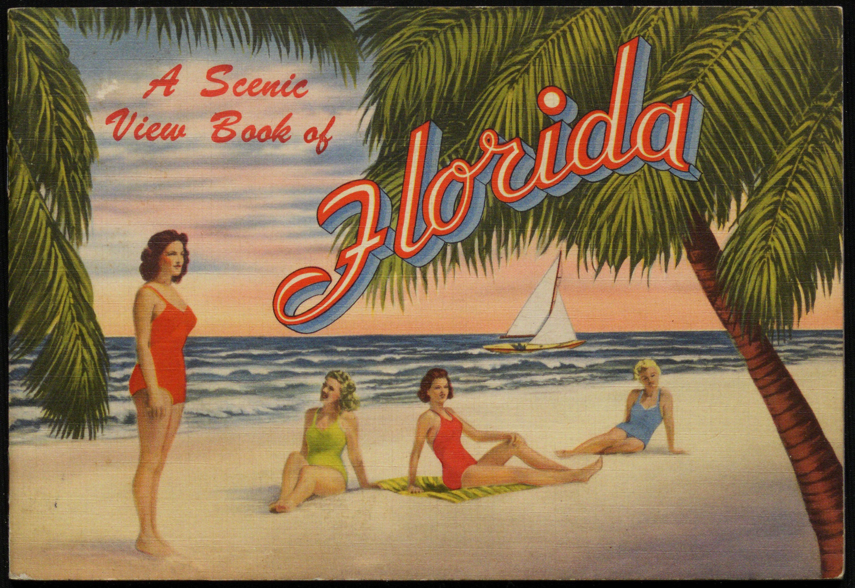 A Scenic View Book of Florida. Copyright University of Florida, George A. Smathers Libraries